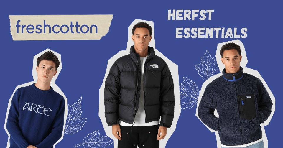 Blijf warm in de herfst met deze items van Freshcotton