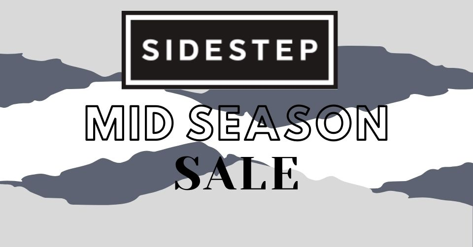 De Mid Season sale van SIDESTEP gaat van start bij
