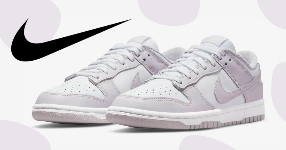 De Nike Dunk Low 'Light Violet' is speciaal voor de dames