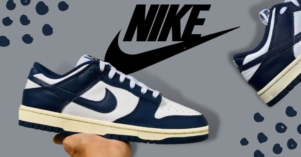 Nike komt met Dunk Low 'Vintage Navy' colorway
