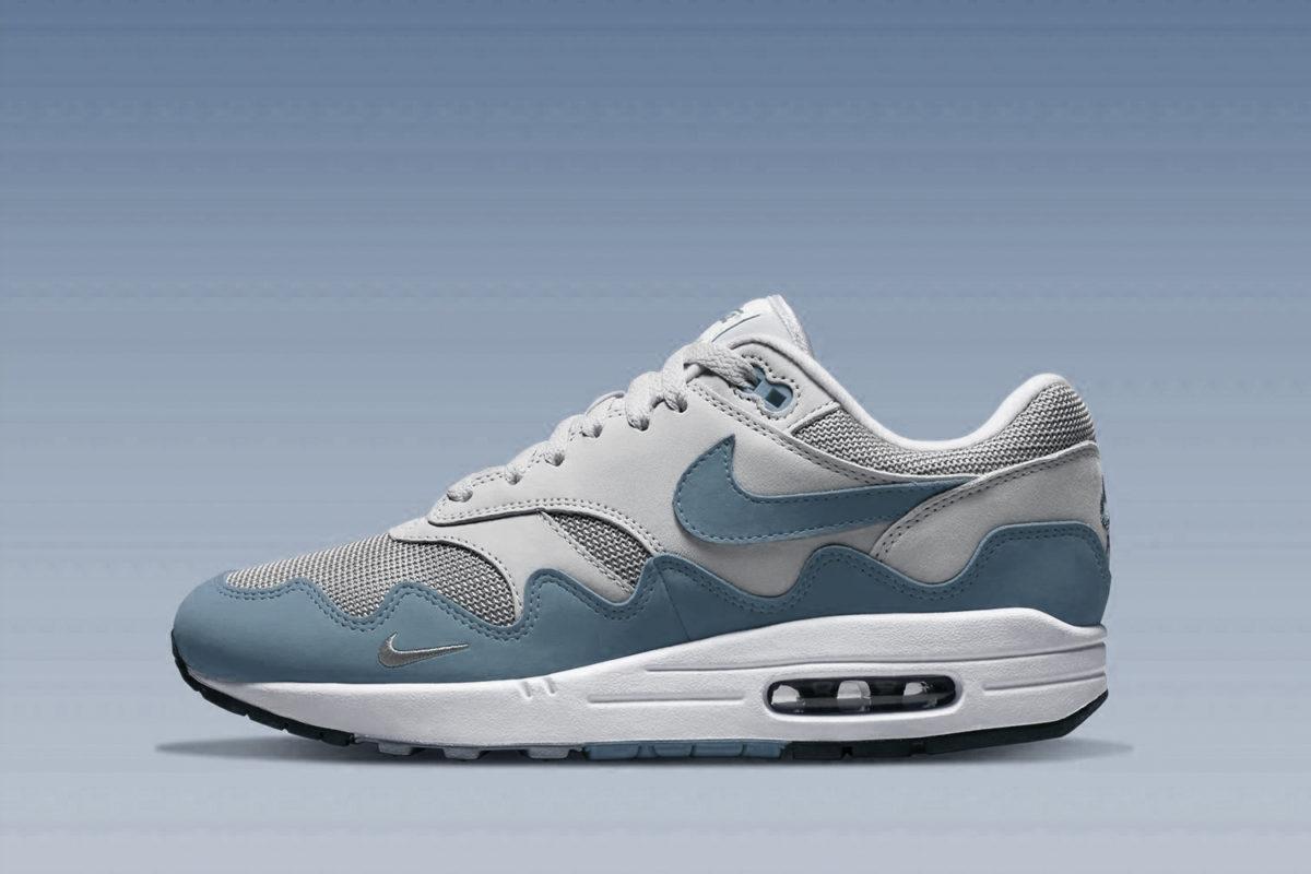 Patta x Nike Air Max 1 'Noise Aqua' binnenkort verwacht