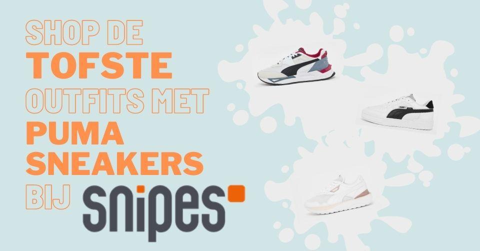 Shop de tofste outfits met Puma sneakers bij Snipes