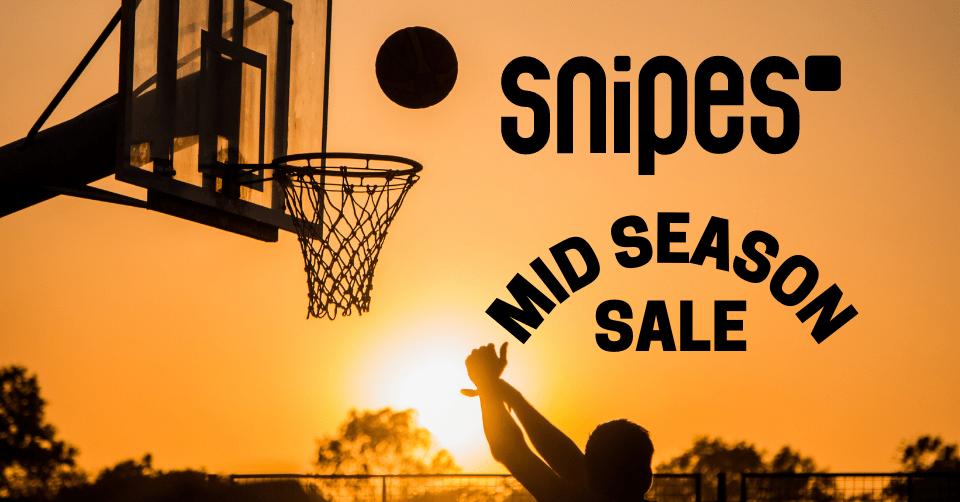 Snipes Mid Season Sale