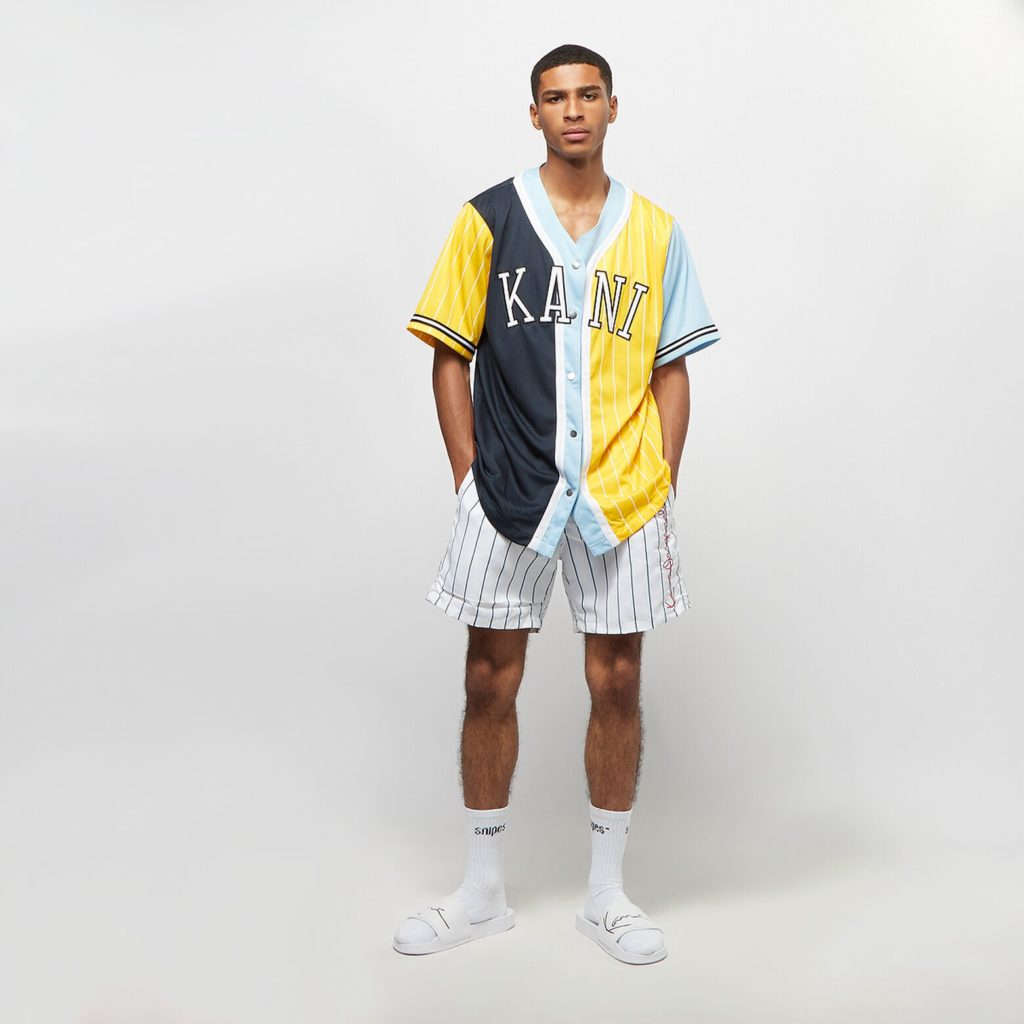 Snipes Karl Kani college shirt
