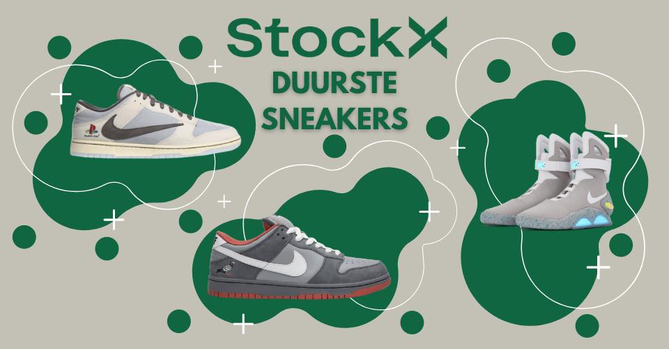 De top 10 duurste sneakers op StockX 💸