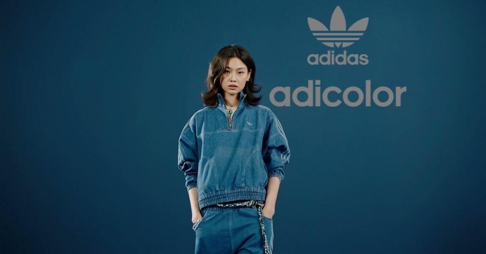 adidas tekent Squid Game's Hoyeon Jung bij adicolor Campaign