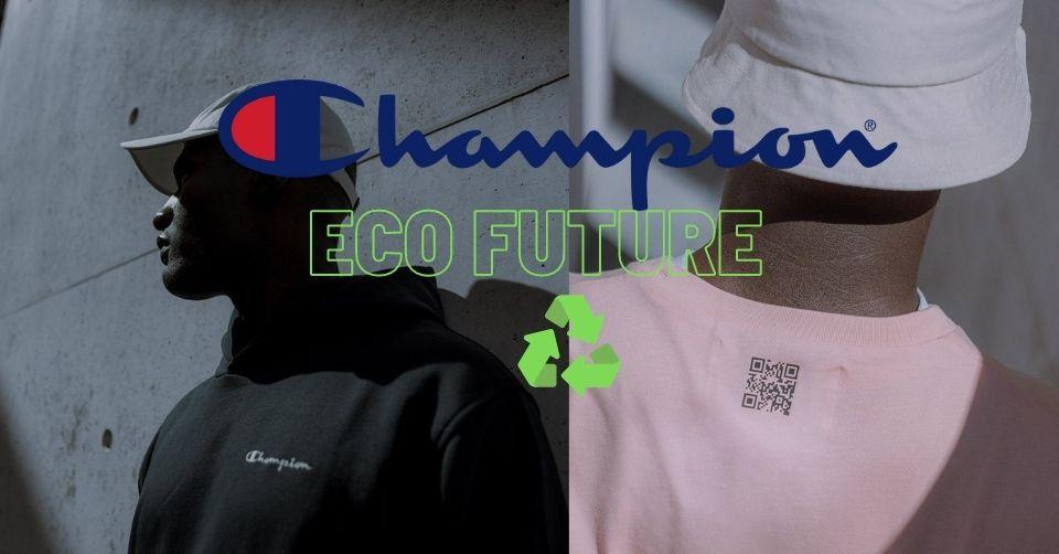 Champion Eco Future collectie is duurzaam en genderneutraal