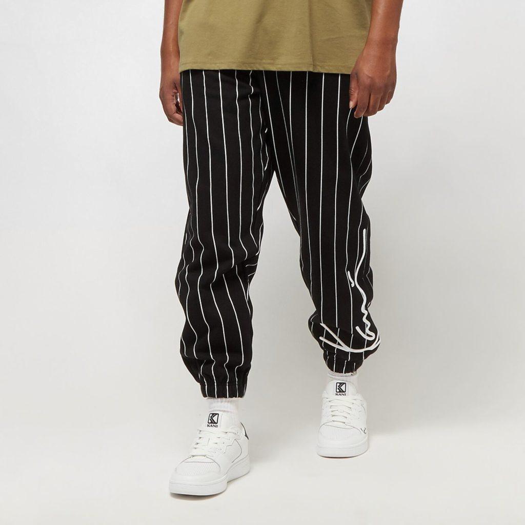 Karl Kani Signature Pinstripe Sweatpants