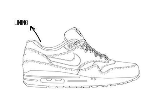 lining sneaker