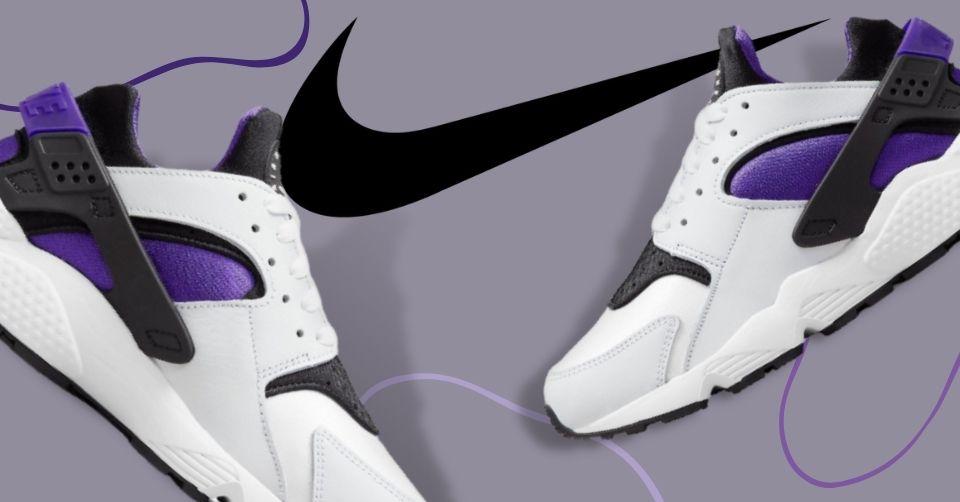 Nike Air Huarache OG 'Purple Punch' maakt zijn comeback