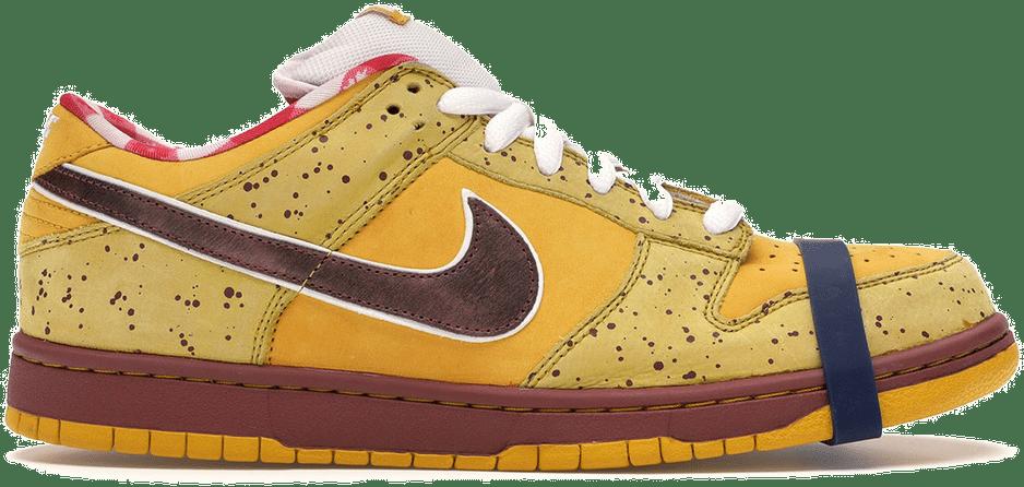 duurste sneakers stockx Nike SB Dunk Low 'Yellow Lobster'