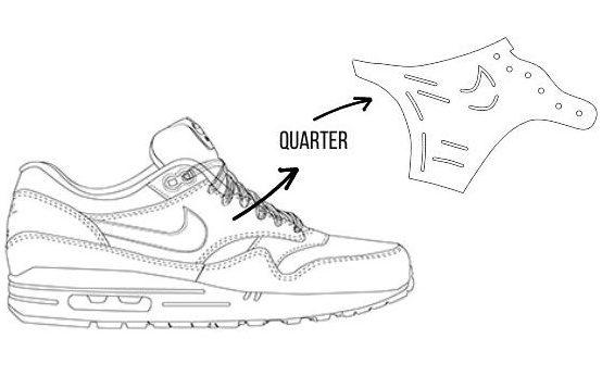 quarter sneaker