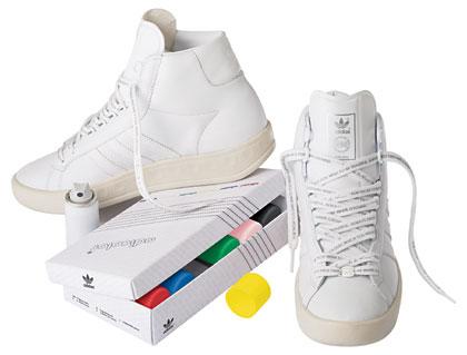 adicolor sneakers spray tan