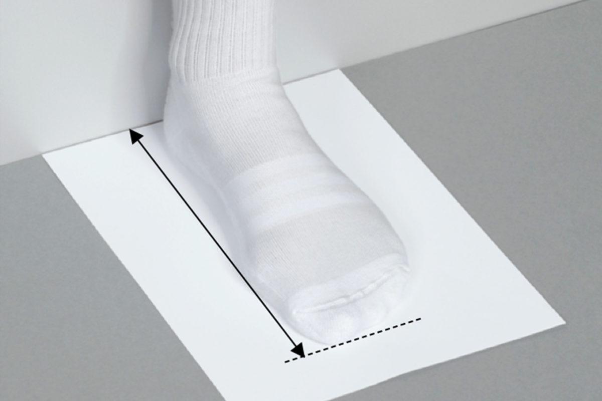 De gemiddelde schoenmaat van mannen is berekend