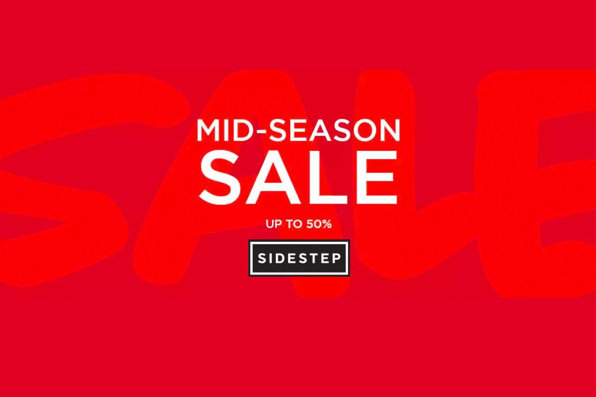 SIDESTEP verlengt zijn Mid Season sale