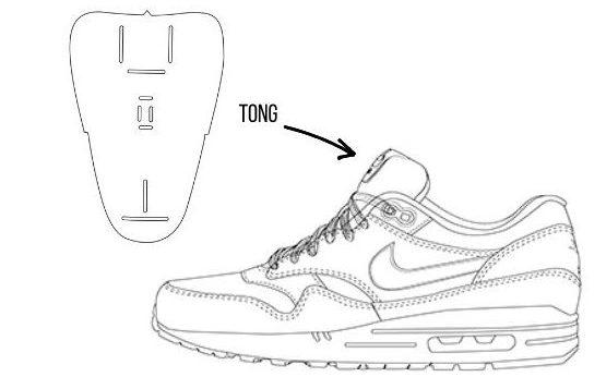 tong sneaker