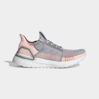 adidas UltraBOOST 19 W Grey Two/ Clear Orange/ True Orange productafbeelding