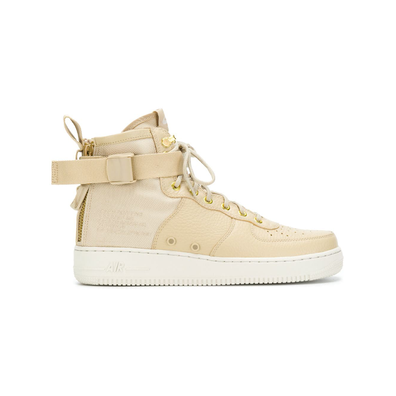 Nike SF Air Force 1 midsneakers - Nude productafbeelding