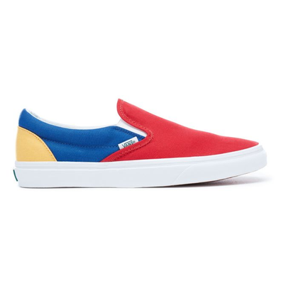 Vans Yacht Club classic slip-on skate shoes - Rood productafbeelding