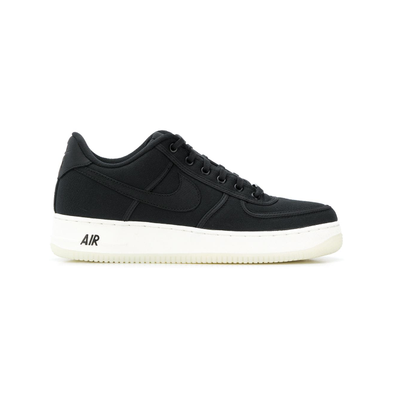 Nike Air Force 1 Low-Top Sneaker - Zwart productafbeelding