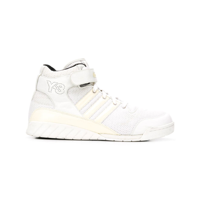 Y-3 touch strap high-tops - Wit productafbeelding