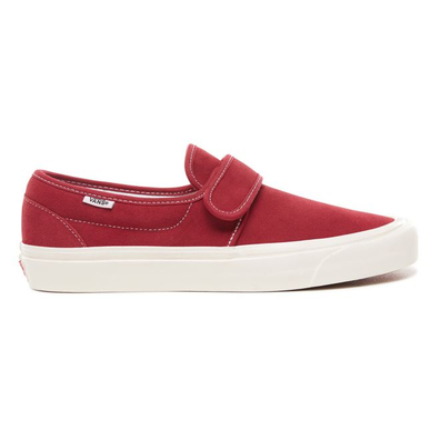 Vans burgundy 47 slip on suede productafbeelding