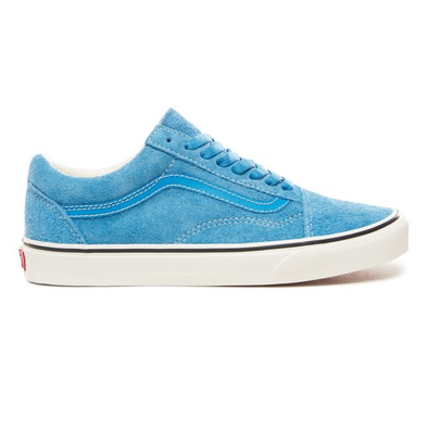 Vans blue hairy old skool suede productafbeelding