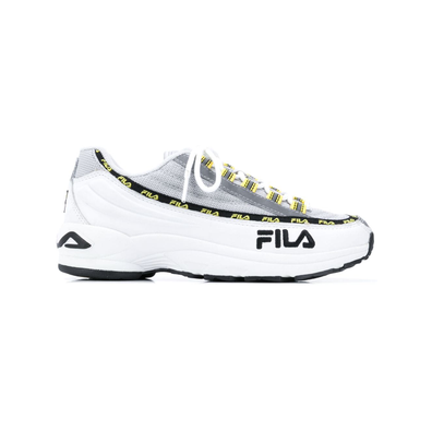 Fila Sneakers met veters - Wit productafbeelding