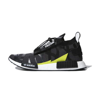 NEIGHBORHOOD X BAPE X adidas NMD Stealth Schuh productafbeelding