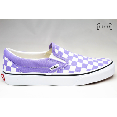 Vans Classic Slip-On Checkerboard 'Violet Tulip' productafbeelding