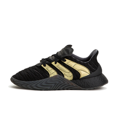 Adidas Sobakov Boost 'Black & Gold' productafbeelding