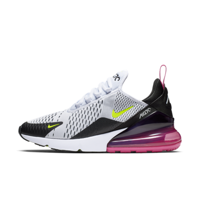 Nike Air Max 270 'White/Laser Fuchsia' productafbeelding