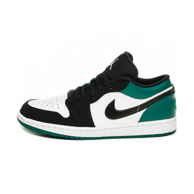 Nike Air Jordan 1 Low (White / Black - Mystic Green) productafbeelding