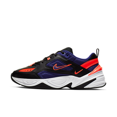 Nike M2K Tekno (Black / Deep Royal Blue - Bright Crimson) productafbeelding