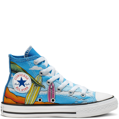 Chuck Taylor All Star Dino's Beach Party High Top productafbeelding
