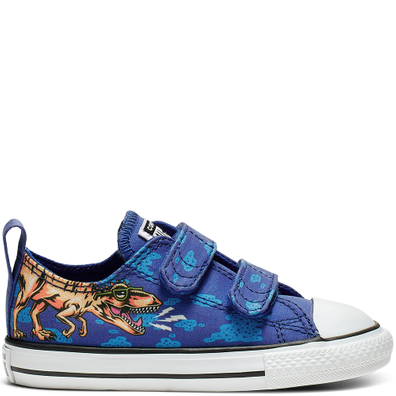 Chuck Taylor All Star Dino's Beach Party Hook and Loop Low Top productafbeelding