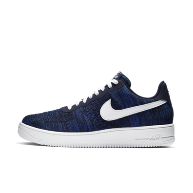 Nike Air Force 1 Flyknit 'Navy' productafbeelding