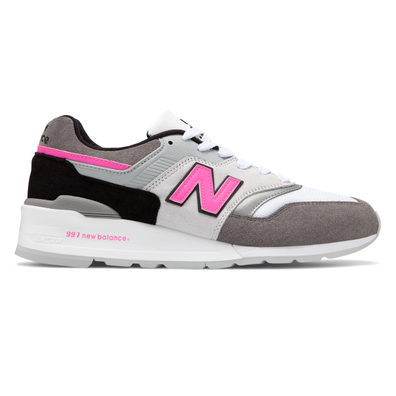 New Balance M997LBK *Made in USA* (Grey / Pink) productafbeelding