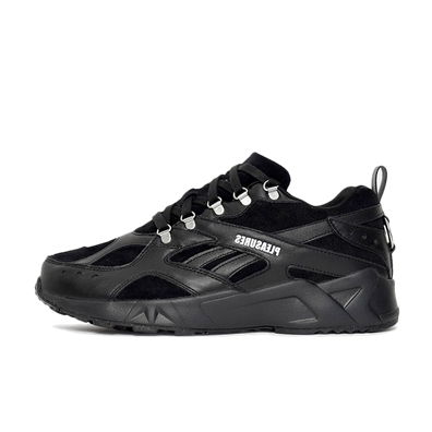 Pleasures X Reebok Aztrek 'Black' productafbeelding