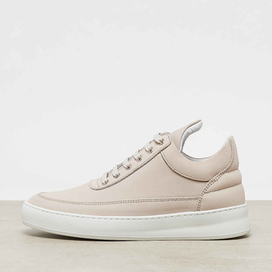 Filling Pieces Low Top Plain Lane Nubuck off white productafbeelding