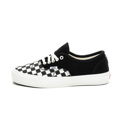 Vans Vault OG Authentic LX *Suede/Canvas* (Black / Checkerboard) productafbeelding