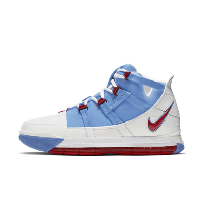 Nike Zoom Lebron 3 QS 'University Blue' productafbeelding