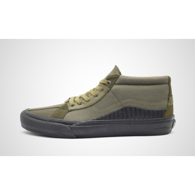 "Vans x Taka Hayashi TH 138 Mid LX ""Military Green"" productafbeelding"