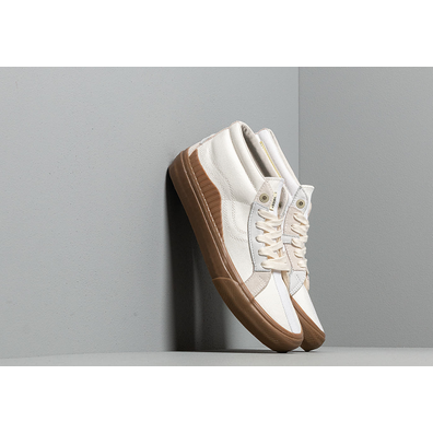 Vans x Taka Hayashi 138 Mid LX (Suede/ Canvas/ Leather) Marshmallow/ Gum productafbeelding