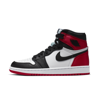 Air Jordan 1 Satin 'Black Toe' productafbeelding