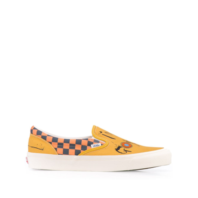 Vans slip-on trainers - Geel productafbeelding
