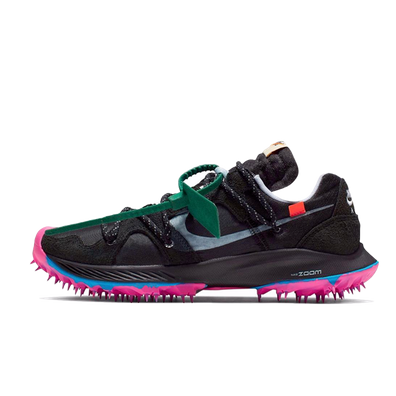 Off White X Nike WMNS Zoom Terra Kiger 5 'Black' productafbeelding