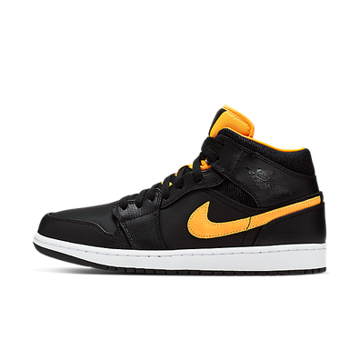 "Nike Air Jordan 1 Mid SE ""University Gold"" productafbeelding"