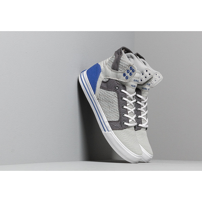 Supra Skytop Light Grey/ Royal/ White productafbeelding