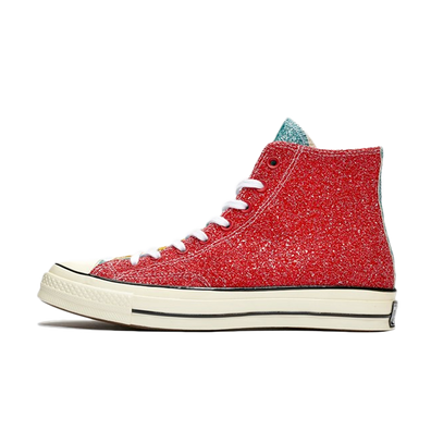 JW Anderson X Converse Chuck 70 'Red Glitter' productafbeelding